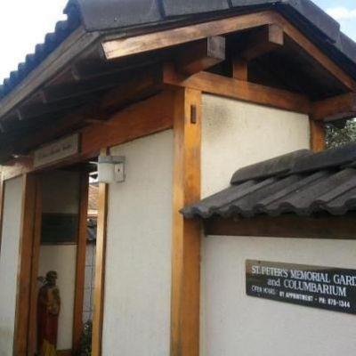 Entrance to St. Peter's Memorial Garden