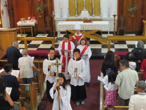 Holy Cross Day - Procession September 13, 2015